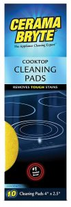 Cerama Bryte Glass-Ceramic Cooktop Cleaning Pads
