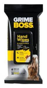 Grime Boss Heavy Duty Hand Cleaning Wipes