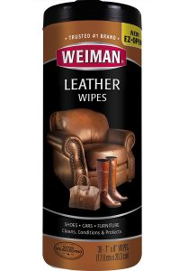 Weiman Leather Wipes – Best Leather Couch Cleaner & Conditioner