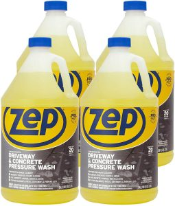 Zep Driveway and Concrete Pressure Wash Cleaner Concentrate Pro Strength