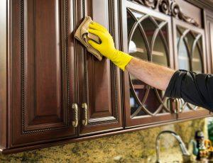 Kitchen Cabinet Cleaner