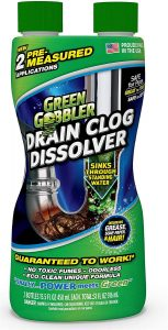 DISSOLVE Liquid Hair & Grease Clog Remover