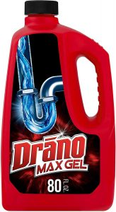 Drano Max Gel Drain Clog Remover and Cleaner for Plastic Pipes