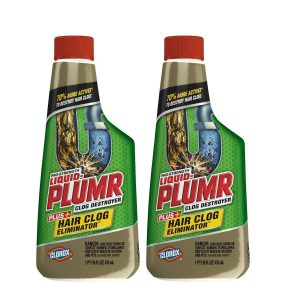 Pro-Strength Liquid-Plumr Clog Destroyer Plus Hair Clog Eliminator
