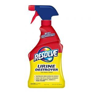 Resolve Urine Destroyer Spray Stain & Odor Remover