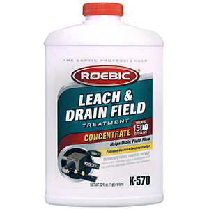 Roebic Biodegradable Leach and Drain Field Opener – Best Toilet Enzyme Cleaner