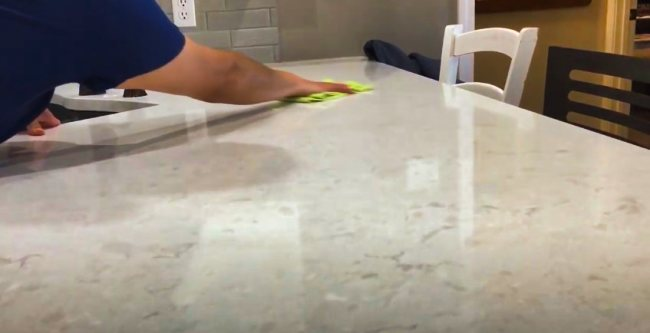 Cleaning Stone Countertop