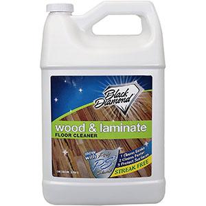 Black Diamond Stoneworks Wood & Laminate Floor Cleaner: For Hardwood, Real, Natural & Engineered Flooring