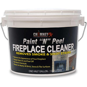 CHIMNEYRX Paint & Peel Fireplace Cleaner, 1/2 Gallon