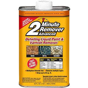 Sunnyside 63532 2-Minute Remover Advanced Paint & Varnish Remover Liquid