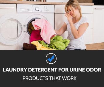 Best Laundry Detergent for Urine Odor