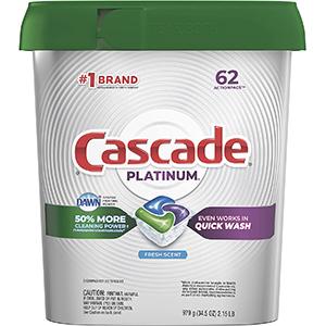 Cascade Platinum Dishwasher Pods